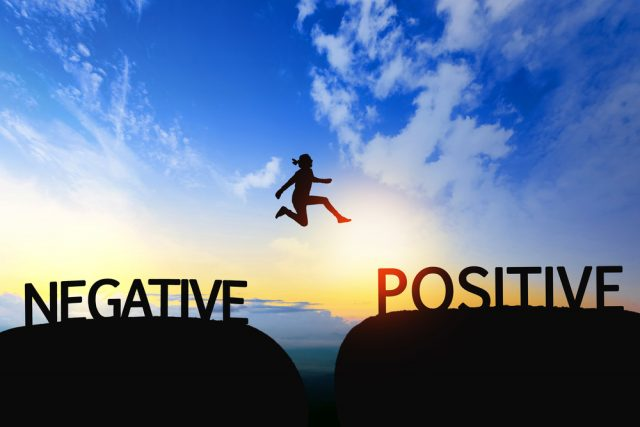 eliminate negativity; it can be detrimaental to your success and your mindset