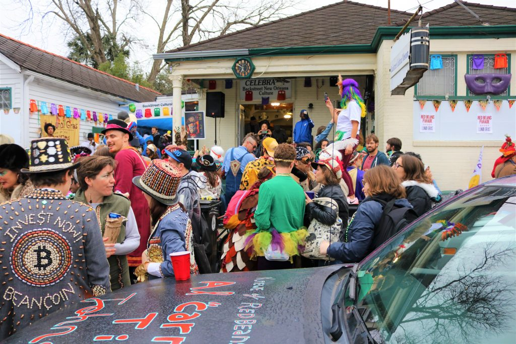 Lundi Gras Red Beans Parade